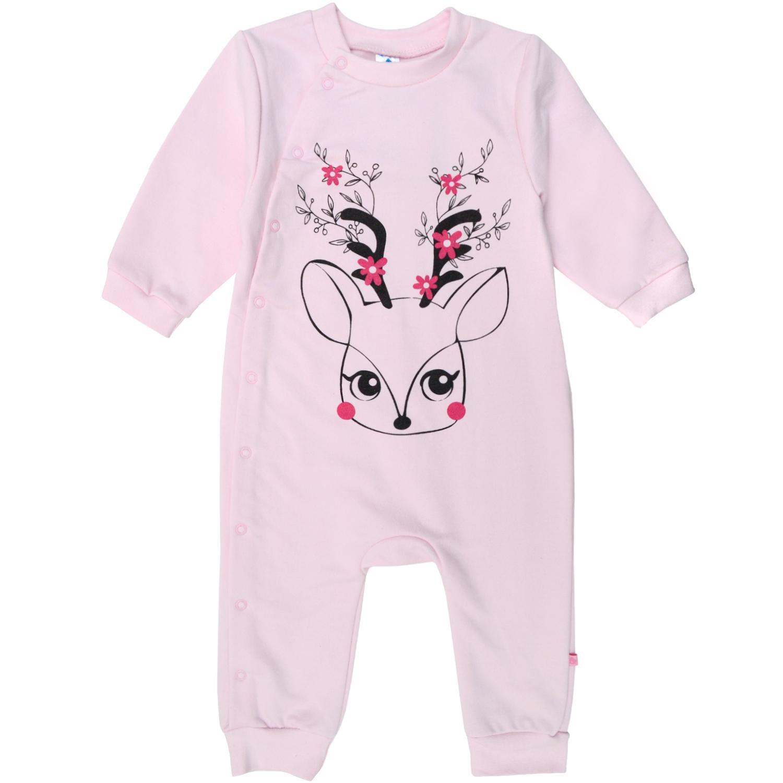 6a4fa752d8df Комбинезон для сна для девочки 9-18 мес розовый Minikin 1820201 ...